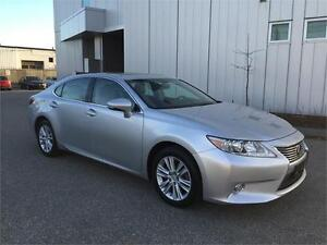 2013 LEXUS ES350 LEATHER SUNROOF 52KM