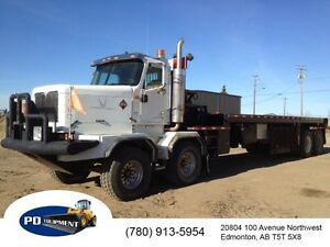2003 International 5600 Paystar T/A T/A Oilfield Bed Truck Edmonton Edmonton Area image 1