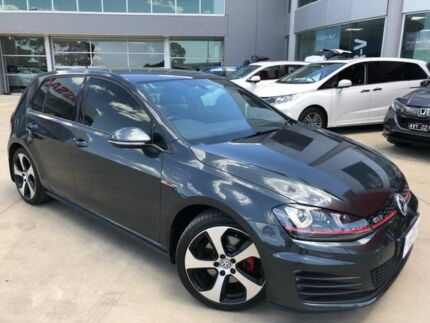 2015 Volkswagen Golf VII MY15 GTI DSG Grey 6 Speed Sports Automatic Dual Clutch Hatchback Ravenhall Melton Area Preview