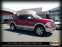2012 Ram 1500 Laramie LOADED WITH LEATHER AND NAVIGATION!