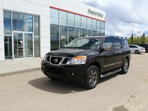 2013 Nissan Armada Platinum, DVD, B/U cam, NAV, loaded
