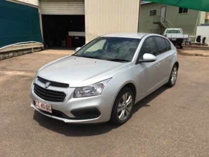 2015 Holden Cruze JH MY15 Equipe Silver 5 Speed Manual Hatchback