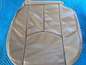 03-06TAHOE,SILVERADO,SUBURBAN LEATHER DRIVERS SEAT UPHOLSTERY M.PEWTER/GRAY#922