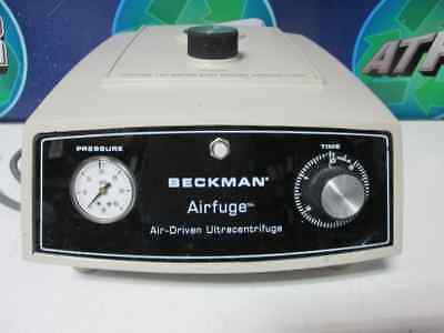 Beckman Airfuge Air-driven Ultracentrifuge