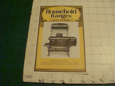 Vintage Original HOUSEHOLD RANGES white warner co. -HOME- i show all of item 1