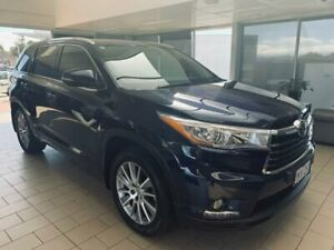 2015 Toyota Kluger GSU55R Grande AWD Blue 6 Speed Sports Automatic Wagon Belconnen Belconnen Area Preview