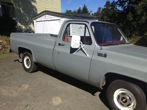 1979 Chevrolet C10 Custom Deluxe Pickup Truck