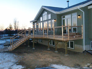 Deck and Wood Features - Free Quotes - One Stop Home Solutions Kawartha Lakes Peterborough Area image 4