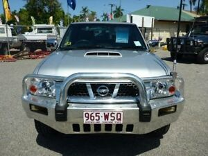 2012 Nissan Navara D22 S5 ST-R Silver Manual Utility Townsville Townsville City Preview