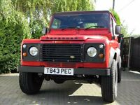 LAND ROVER DEFENDER TD5 FINE EXAMPLE LOADS OF WORK DONE