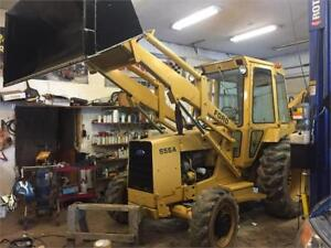 Ford 655A 4X4 backhoe