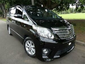2012 Toyota Alphard ANH20W 2012 240S C Package Mickey Mouse Ear Version Black Pearl Automatic Concord Canada Bay Area Preview