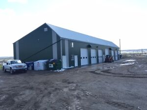 ONE LARGE SHOP - OR 3 BAYS