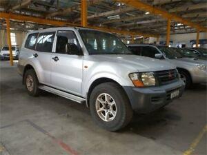 2000 Mitsubishi Pajero NM GLX Silver Sports Automatic Wagon Hamilton North Newcastle Area Preview