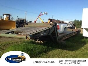 1989 Arnes 35 Ton Hydraulic T/A Drop Deck Trailer
