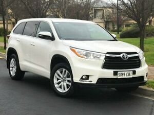 2016 Toyota Kluger GSU50R GX 2WD White 6 Speed Sports Automatic Wagon Hillcrest Port Adelaide Area Preview
