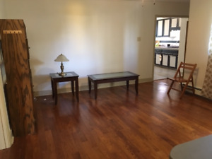 Large 2 Bedroom Unit, Lots of light and partially furnished
