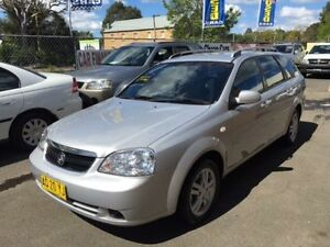 2006 Holden Viva JF MY07 Silver 4 Speed Automatic Wagon Campbelltown Campbelltown Area Preview
