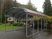 RV Carports Metal - 12' x 21' - $1500 other sizes available