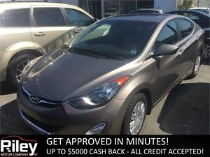 2013 Hyundai Elantra GL STARTING AT $83.41 BI WEEKLY