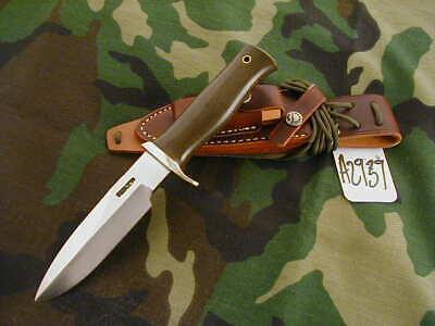 "RANDALL KNIFE KNIVES NON-CATALOG C.C. FT,5"",SS,TN,BSHSQ,GREEN MIC.,BPH,WT #A2939"