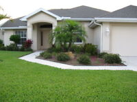 Seasonal, North Port, Bungalow Home in Gated Community For Rent