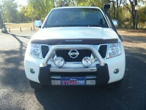 2010 Nissan Pathfinder R51 Series 4 ST-L (4x4) White 5 Speed Automatic Wagon Dalby Dalby Area Preview