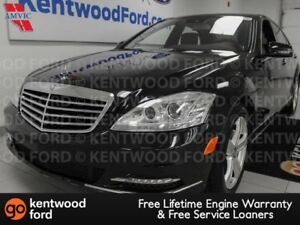 2012 Mercedes-Benz S-Class S 350 AWD with sunroof, heated power