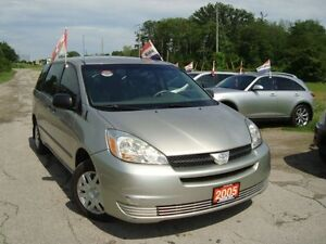 2005 Toyota Sienna CE Accident Free