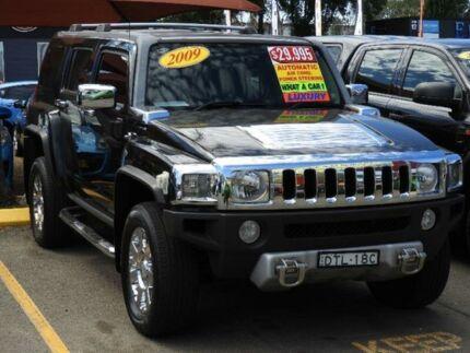 2009 Hummer H3 Luxury Black 4 Speed Automatic Wagon