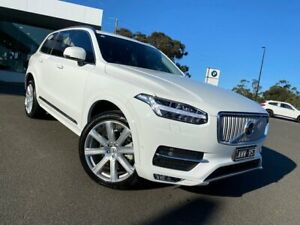 2018 Volvo XC90 L Series MY18 D5 Geartronic AWD Inscription White 8 Speed Sports Automatic Wagon