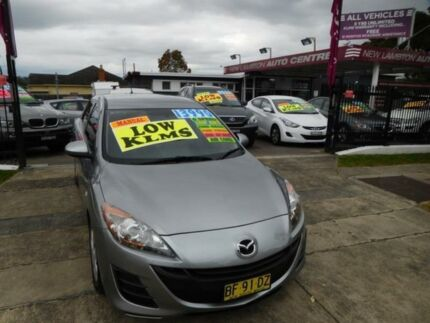 2010 Mazda 3 BL 10 Upgrade Neo Grey 6 Speed Manual Hatchback New Lambton Newcastle Area Preview