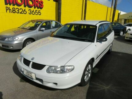 2002 Holden Commodore VX Series II Executive White 4 Speed Automatic Wagon Morphett Vale Morphett Vale Area Preview