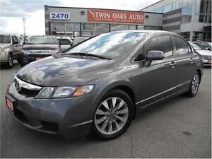 2011 Honda Civic Sdn EX-L LEATHER - SUNROOF Oakville / Halton Region Toronto (GTA) image 1