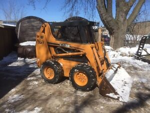 CASE 75 XT Skid Steer.