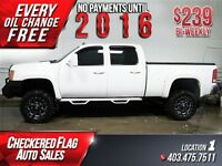 2011 GMC SIERRA 2500HD SLT W/ 4X4, Lift Kit, Heated Leather