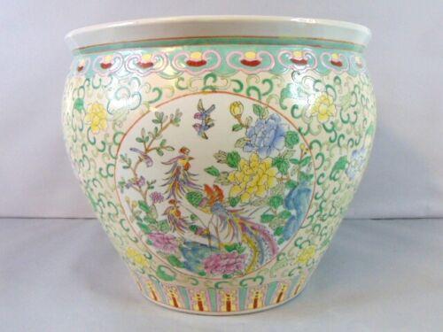 Decorative Chinese Porcelain Planter Fish Pot