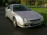 1997 R REG HONDA PRELUDE 2.0i AUTOMATIC 2 DOOR COUPE VERY LOW MILEAGE HPI CLEAR