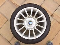 BMW Alloys (4) with Winter Sport Tyres