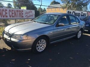 2006 Ford Falcon Grey 4 Speed Automatic Sedan Campbelltown Campbelltown Area Preview
