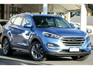 2017 Hyundai Tucson TL MY18 Active X 2WD Blue 6 Speed Sports Automatic Wagon Christies Beach Morphett Vale Area Preview
