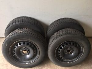 Michelin X-Ice Winter Tires and Rims 195/65R15