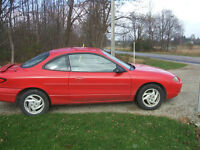 1999 Ford Escort ZX2 Coupe