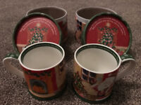 2 x Churchill Little Rhymes Santa Mug - Twas The Night Before Christmas - in gift box (BRAND NEW)