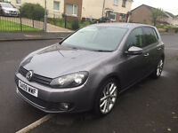 VOLKSWAGEN GOLF GT TDI DSG AUTO DIESEL 5 DOOR Very Very Clean Fully Loaded - Full Leather, Sat Nav