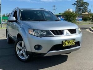2006 Mitsubishi Outlander ZG MY07 XLS 6 Speed Constant Variable Wagon Blacktown Blacktown Area Preview