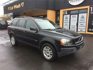 2005 Volvo XC90 2.5L, 7seats, DVD, sunroof,leather,AWD