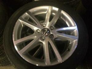 """NEW OEM Vw 17"""" vision with brand new Pirelli Cintarato Package"""