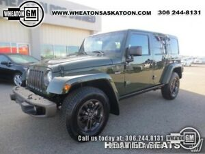 2016 Jeep Wrangler Unlimited Sahara 75th Anniversary Edition w/