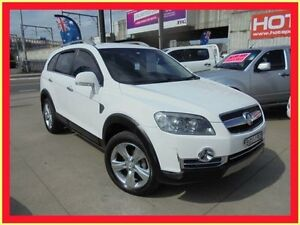 2008 Holden Captiva CG MY08 LX 60th Anniversary White 5 Speed Automatic Wagon Holroyd Parramatta Area Preview